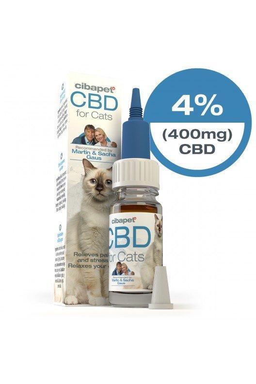 Cibapet CBD olie voor katten 10ml 4%
