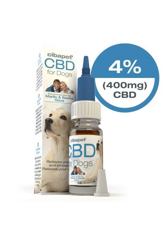 Cibapet CBD olie voor honden 4%