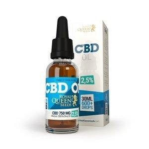 Royal Queen Seeds CBD olie 2,5% 50ml